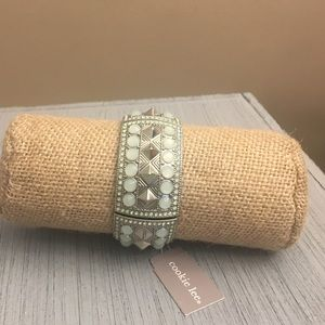 Cookie Lee Opal Pyramid Bracelet